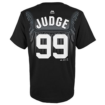 Boys 8-20 Majestic New York Yankees Aaron Judge Robe Tee
