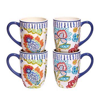 Certified International San Marino 4-pc. Mug Set