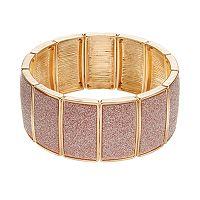 Plus Size Glitter Stretch Bracelet