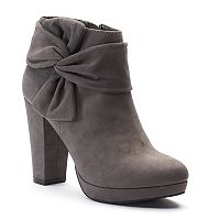 LC Lauren Conrad Moonflower Women's Ankle Boots