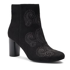 Andrew Geller Jural Women's High Heel Ankle Boots