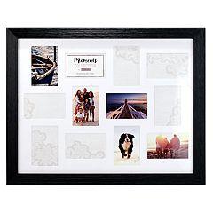 Malden 12-Opening Distressed Black 4' x 6' Collage Frame