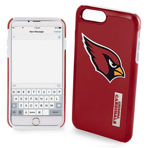 Forever Collectibles Arizona Cardinals iPhone 6/6 Plus Dual Hybrid Cell Phone Case