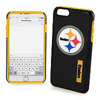 Forever Collectibles Pittsburgh Steelers iPhone 6/6 Plus Dual Hybrid Cell Phone Case