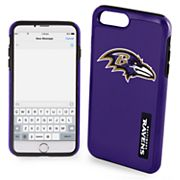Forever Collectibles Baltimore Ravens iPhone 6/6 Plus Dual Hybrid Cell Phone Case