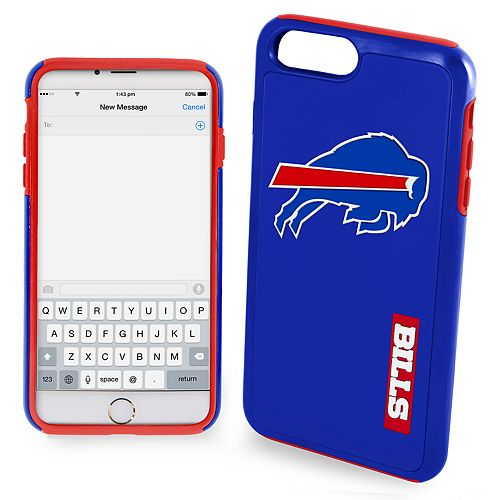 Forever Collectibles Buffalo Bills iPhone 6/6 Plus Dual Hybrid Cell Phone Case