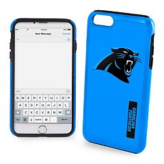 Forever Collectibles Carolina Panthers iPhone 6/6 Plus Dual Hybrid Cell Phone Case