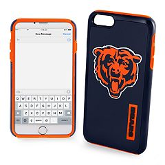 Forever Collectibles Chicago Bears iPhone 6/6 Plus Dual Hybrid Cell Phone Case
