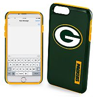 Forever Collectibles Green Bay Packers iPhone 6/6 Plus Dual Hybrid Cell Phone Case