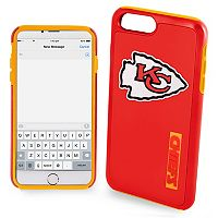 Forever Collectibles Kansas City Chiefs iPhone 6/6 Plus Dual Hybrid Cell Phone Case