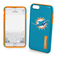 Forever Collectibles Miami Dolphins iPhone 6/6 Plus Dual Hybrid Cell Phone Case