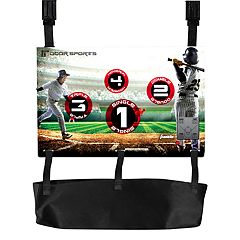 Franklin Sports Door Sports Electronic Baseball Toss Set