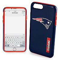 Forever Collectibles New EnglandPatriots iPhone 6/6 Plus Dual Hybrid Cell Phone Case