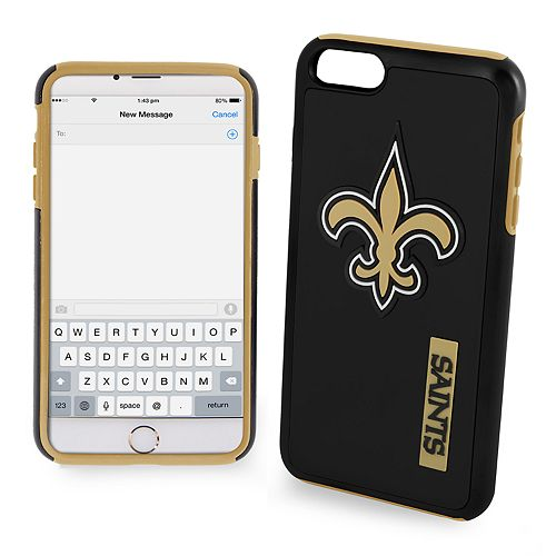 Forever Collectibles New Orleans Saints iPhone 6/6 Plus Dual Hybrid Cell Phone Case