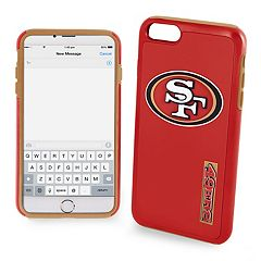 Forever Collectibles San Francisco 49ers iPhone 6/6 Plus Dual Hybrid Cell Phone Case