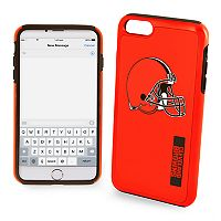Forever Collectibles Cleveland Browns iPhone 6 Plus Dual Hybrid Cell Phone Case