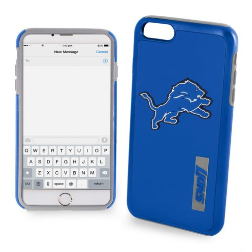 Forever Collectibles Detroit Lions iPhone 7 Plus Dual Hybrid Cell Phone Case