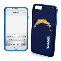 Forever Collectibles Los Angeles Chargers iPhone 6 Plus Dual Hybrid Cell Phone Case