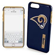 Forever Collectibles Los Angeles Rams iPhone 6 Plus Dual Hybrid Cell Phone Case