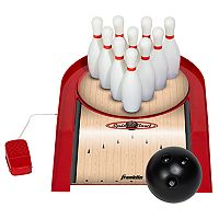 Franklin Sports Spin N Bowl Bowling Set