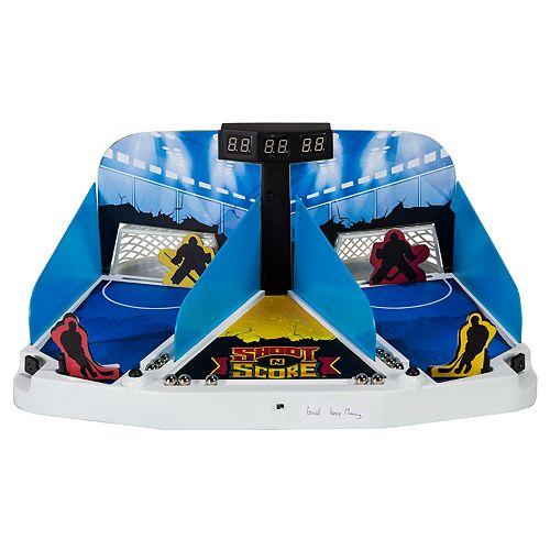 Franklin Sports Shoot N Score Hockey Shootout Set