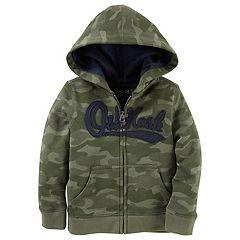 Boys 4-12 OshKosh B'gosh® Logo Zip Hoodie
