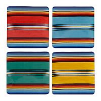 Certified International Pinata 4 pc Dinner Plate Set