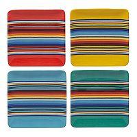 Certified International Pinata 4-pc. Salad Plate Set