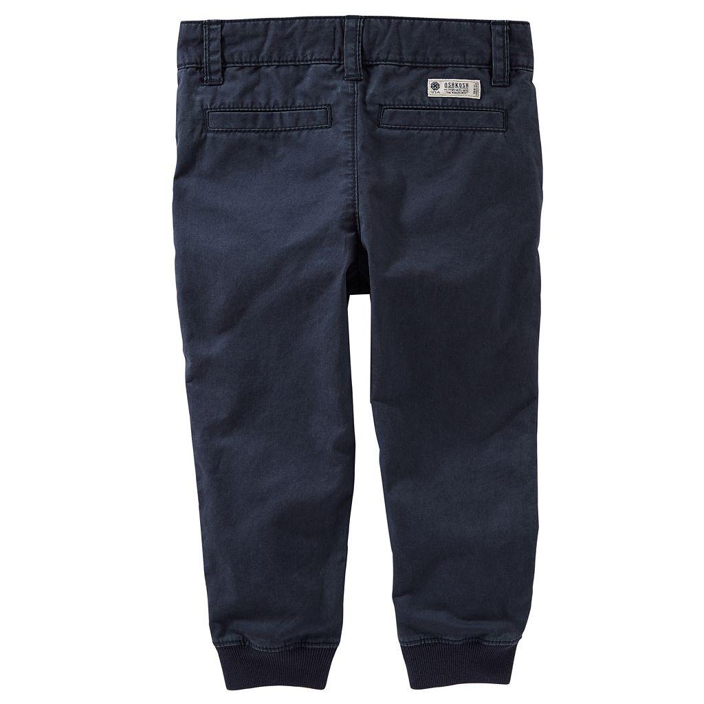 Boys 4-12 OshKosh B'gosh Slim Stretch Twill Jogger Pants