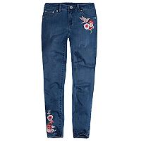 Girls 7-16 Levi's® 710 Embroidered Flower Super Skinny Jeans