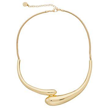 Dana Buchman Asymmetrical Tube Necklace