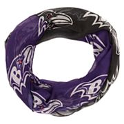 Women's Forever Collectibles Baltimore Ravens Gradient Infinity Scarf