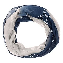 Women's Forever Collectibles Dallas Cowboys Gradient Infinity Scarf