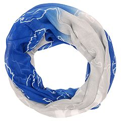 Women's Forever Collectibles Detroit Lions Gradient Infinity Scarf