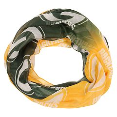 Women's Forever Collectibles Green Bay Packers Gradient Infinity Scarf