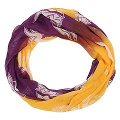 Women's Forever Collectibles Minnesota Vikings Gradient Infinity Scarf