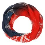 Women's Forever Collectibles New EnglandPatriots Gradient Infinity Scarf