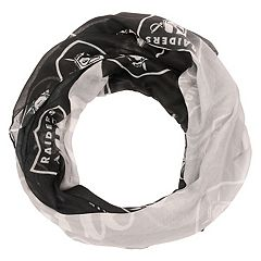 Women's Forever Collectibles Oakland Raiders Gradient Infinity Scarf