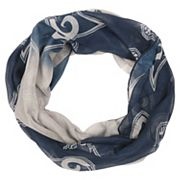 Women's Forever Collectibles Los Angeles Rams Gradient Infinity Scarf