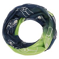 Women's Forever Collectibles Seattle Seahawks Gradient Infinity Scarf