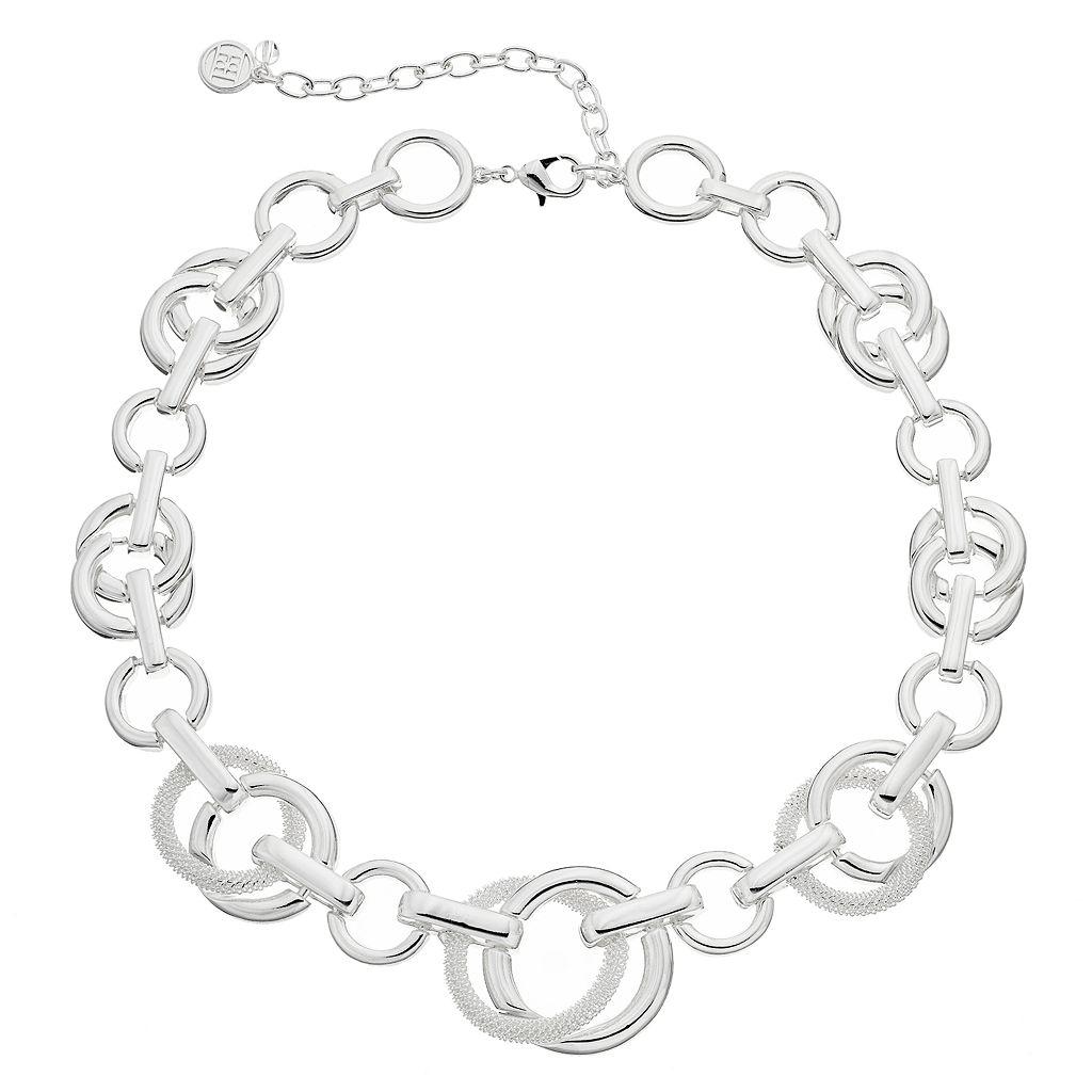 Dana Buchman Mesh Circle Link Necklace
