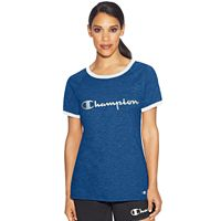 Women's Champion Ringer Graphic Tee