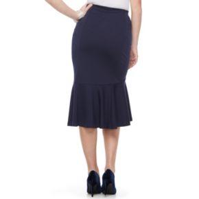 Women's Apt. 9® Ponte Trumpet Skirt