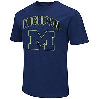 Men's Campus Heritage Michigan Wolverines Logo Tee