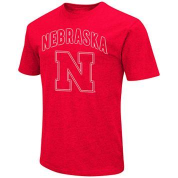 Men's Campus Heritage Nebraska Cornhuskers Logo Tee