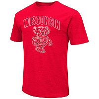 Men's Campus Heritage Wisconsin Badgers Logo Tee