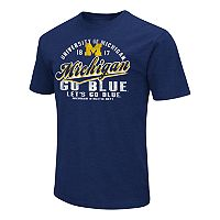 Men's Campus Heritage Michigan Wolverines Statement Tee