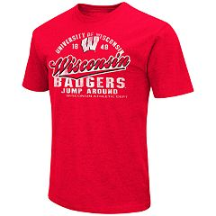 Men's Campus Heritage Wisconsin Badgers Statement Tee