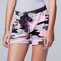 Women's Simply Vera Vera Wang Pajamas: Dream On Dreamer Boxer Shorts