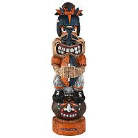 Forever Collectibles Denver Broncos Tiki Figurine